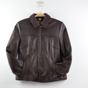 Wilson's Leather Women Size S Brown Leather Jacket